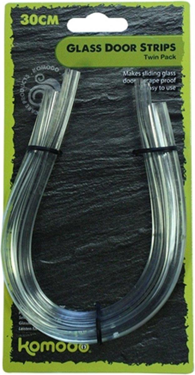 Komodo sluitstrip voor terrarium deur