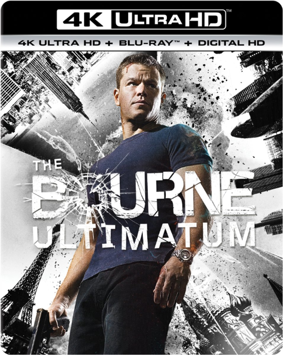 Bourne Ultimatum (4K Ultra HD Blu-ray)-