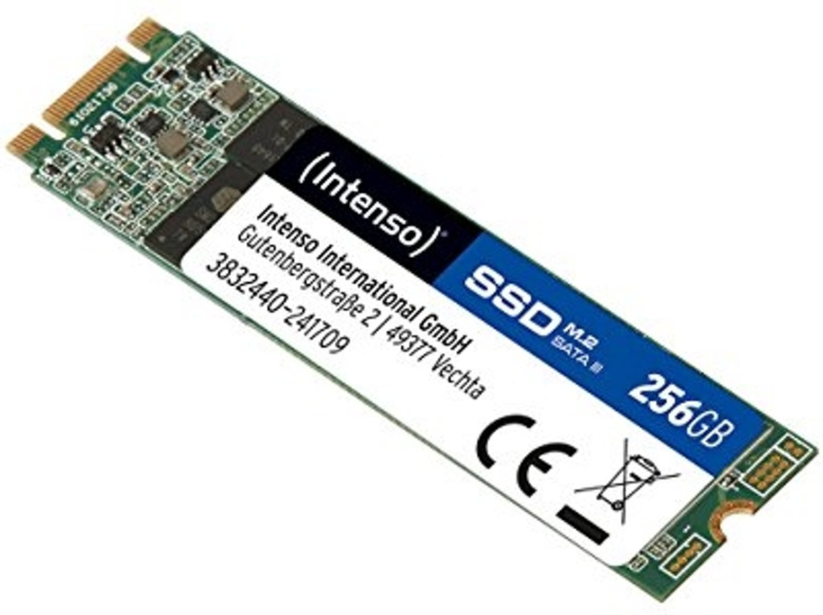 Intenso 3832440 256GB M.2 SATA III internal solid state drive