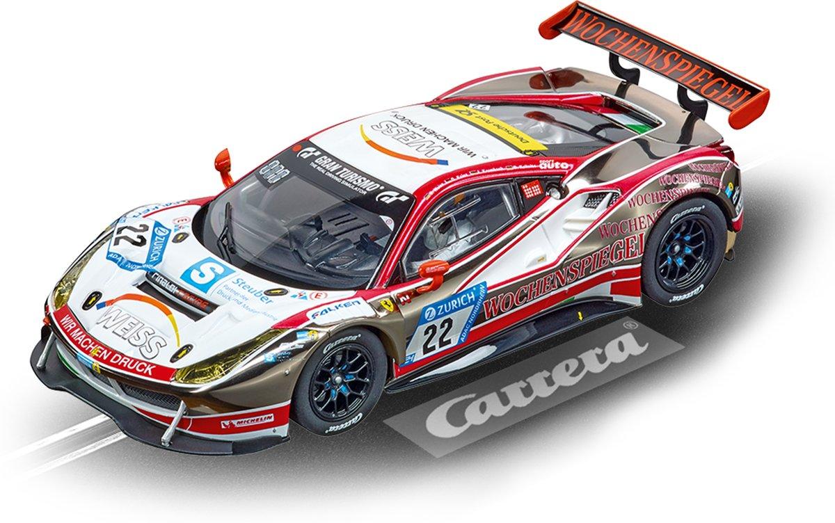 """Carrera DIG132 Ferrari 488 GT3 """"WTM Racing, No.22"""" - Racebaanauto"""