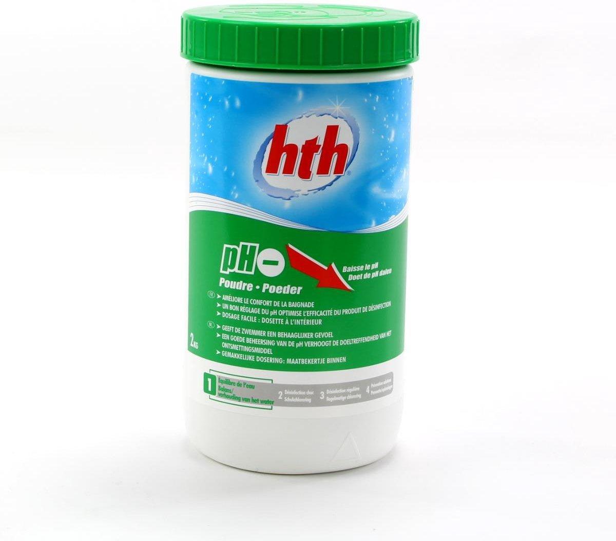 Zwembadonderhoud product Ph Minus '2 kg'