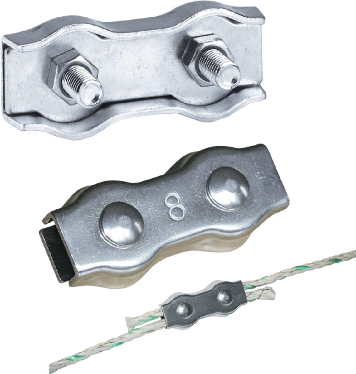 AKO Koordverbinder RVS 8mm (10 stuks)