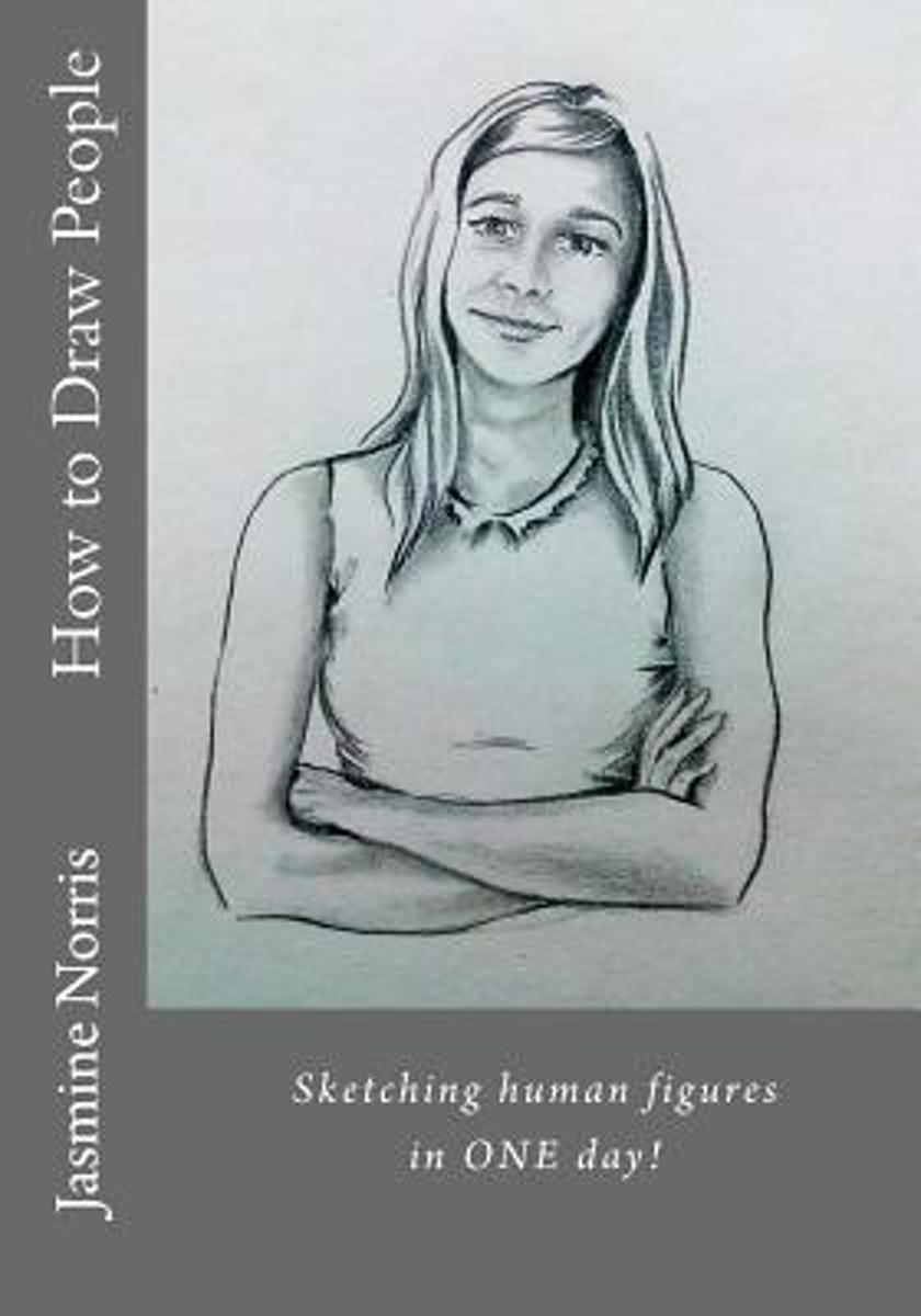 Bol com how to draw people 9781533655226 jasmine norris boeken