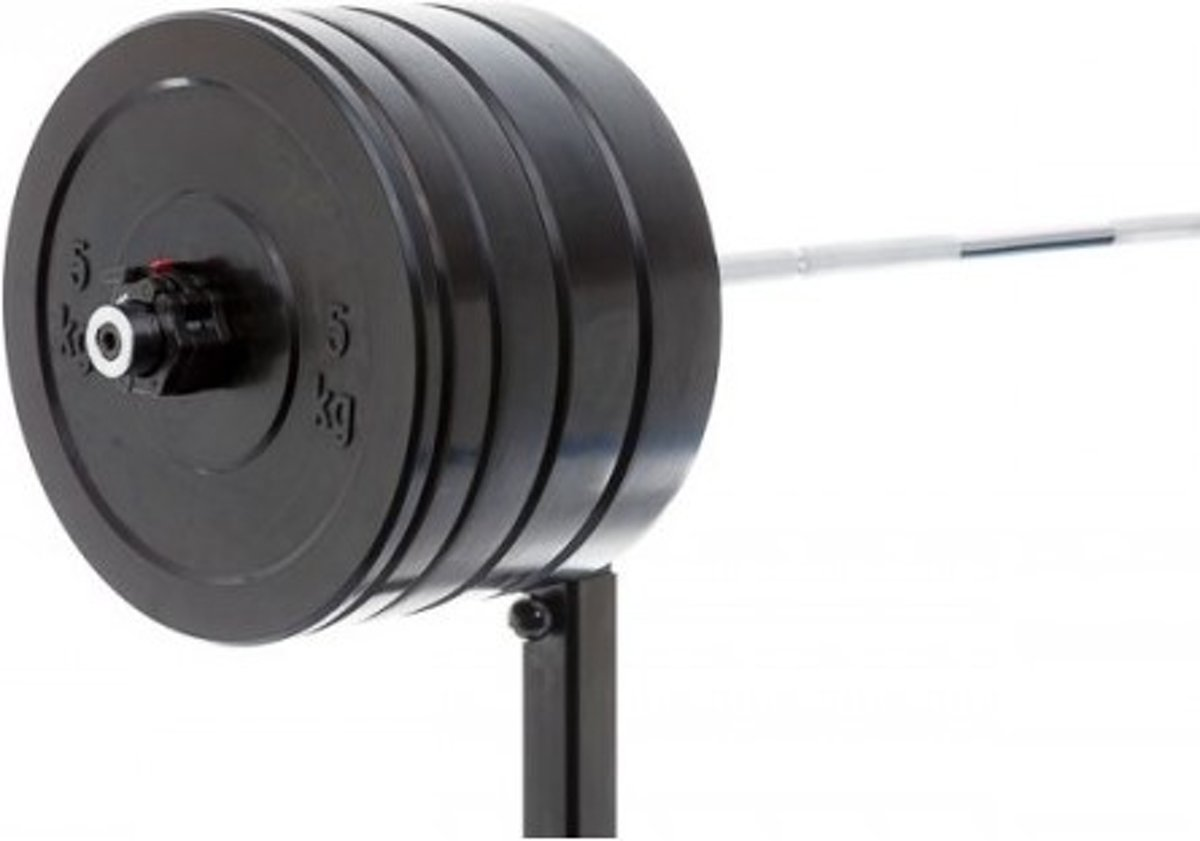 Olympische Bumper Plates Halterset 90kg kopen