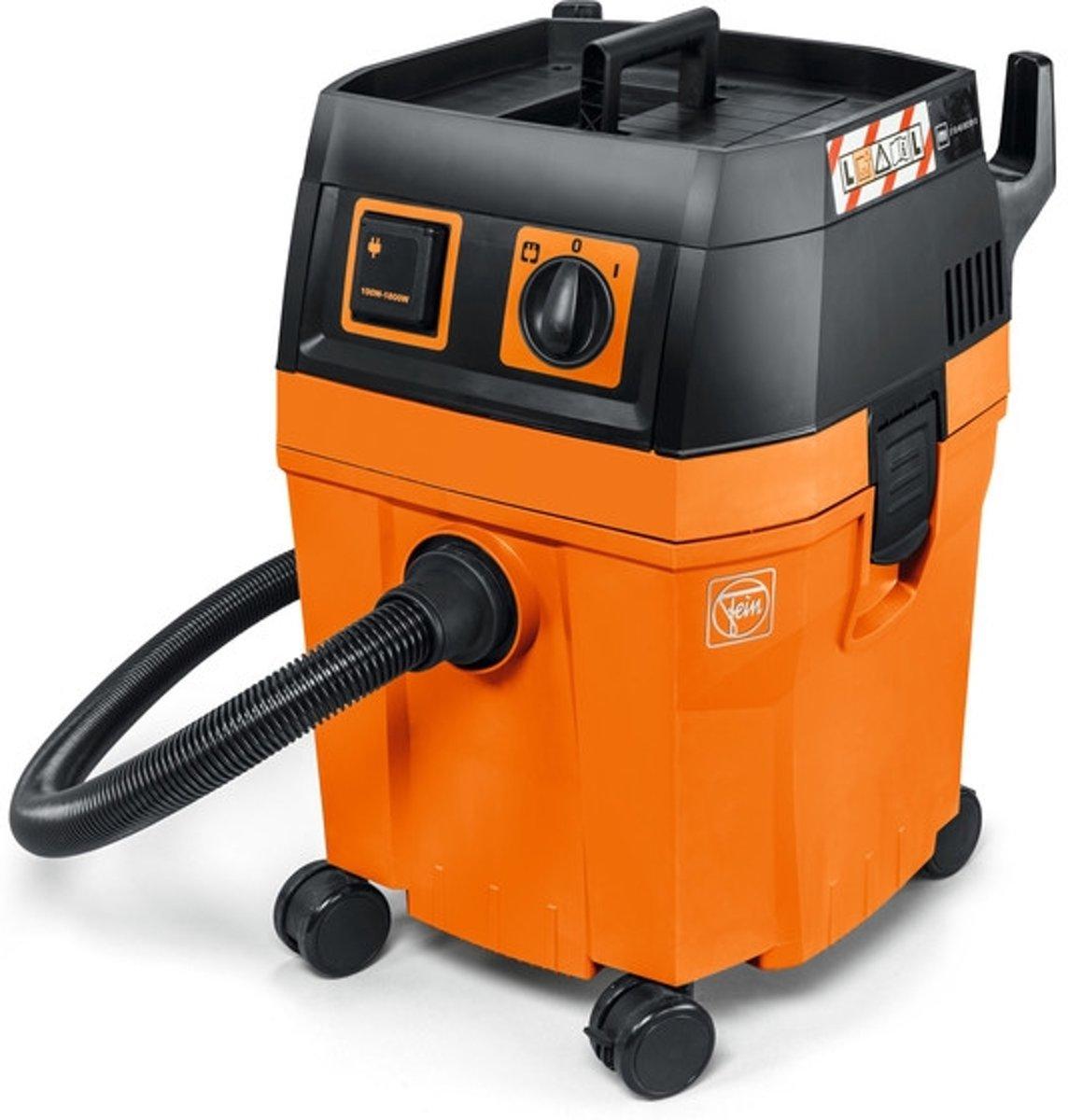FEIN Dustex 35 L 32l 1380W Zwart, Oranje stofzuiger kopen
