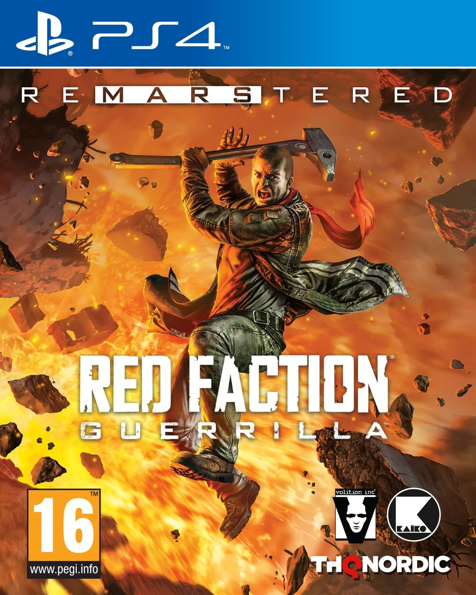 Red Faction Guerilla Re-MARS-tered PlayStation 4