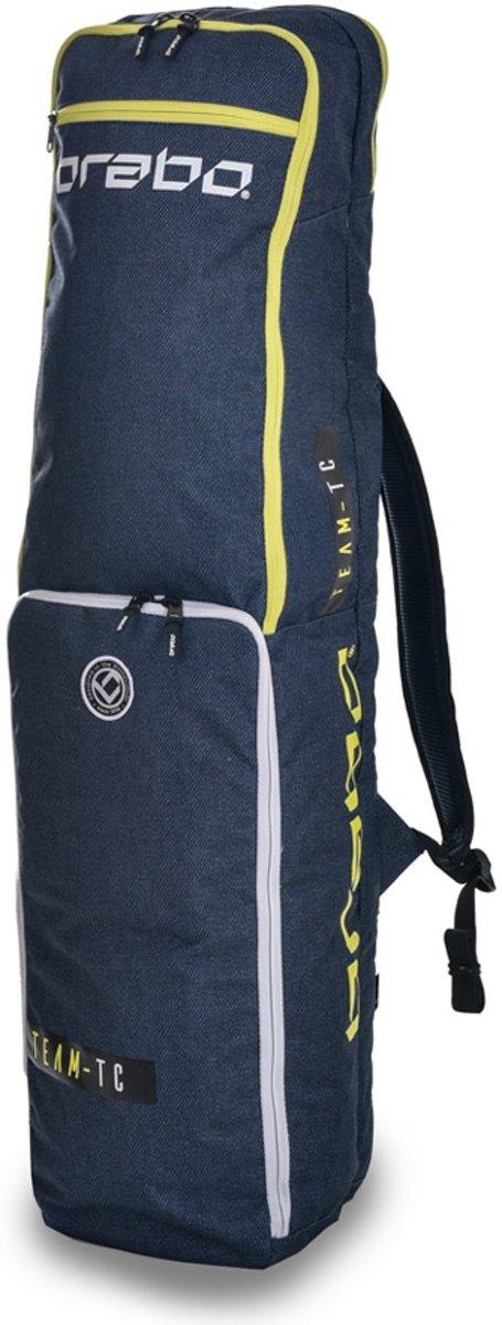 Brabo Stickbag Team TC Blue/Yellow Sticktas Unisex - Yellow kopen