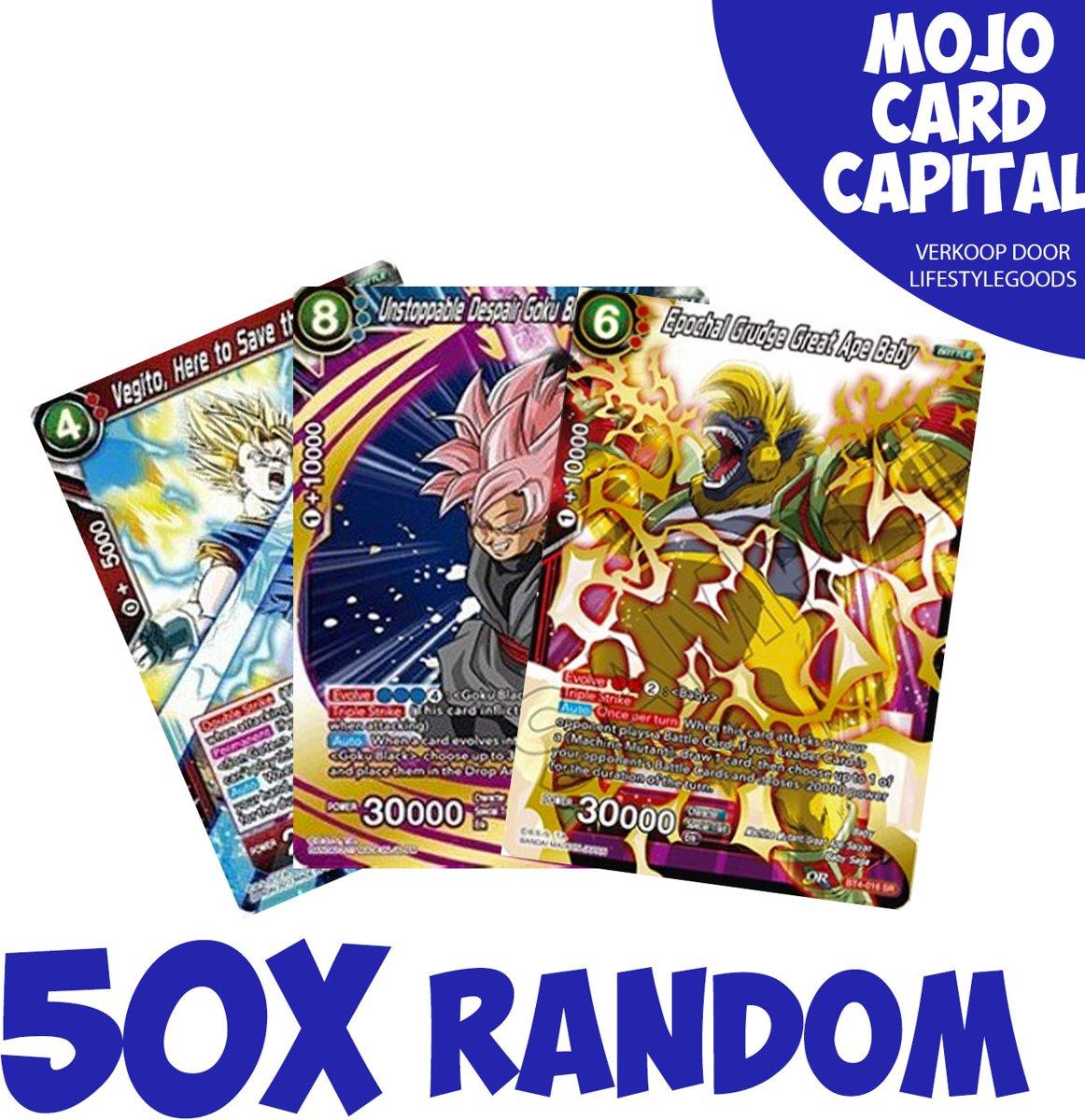 50X Dragon Ball (Z) Super kaarten | Trading Cards | Anime | Konami kopen