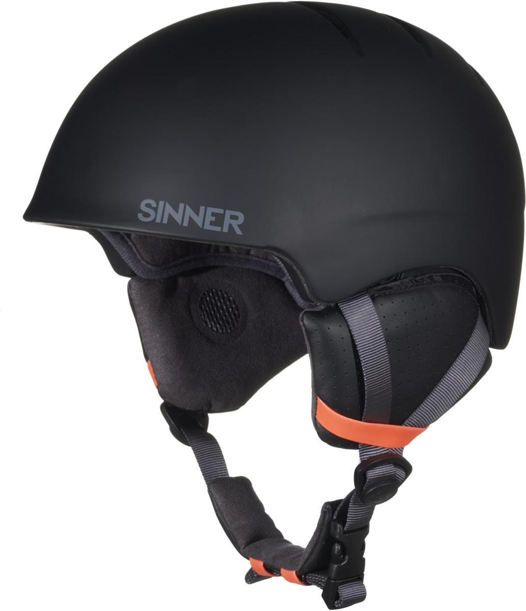 Sinner Lost Trail - Skihelm - Volwassenen - 57-58 cm / M - Zwart kopen