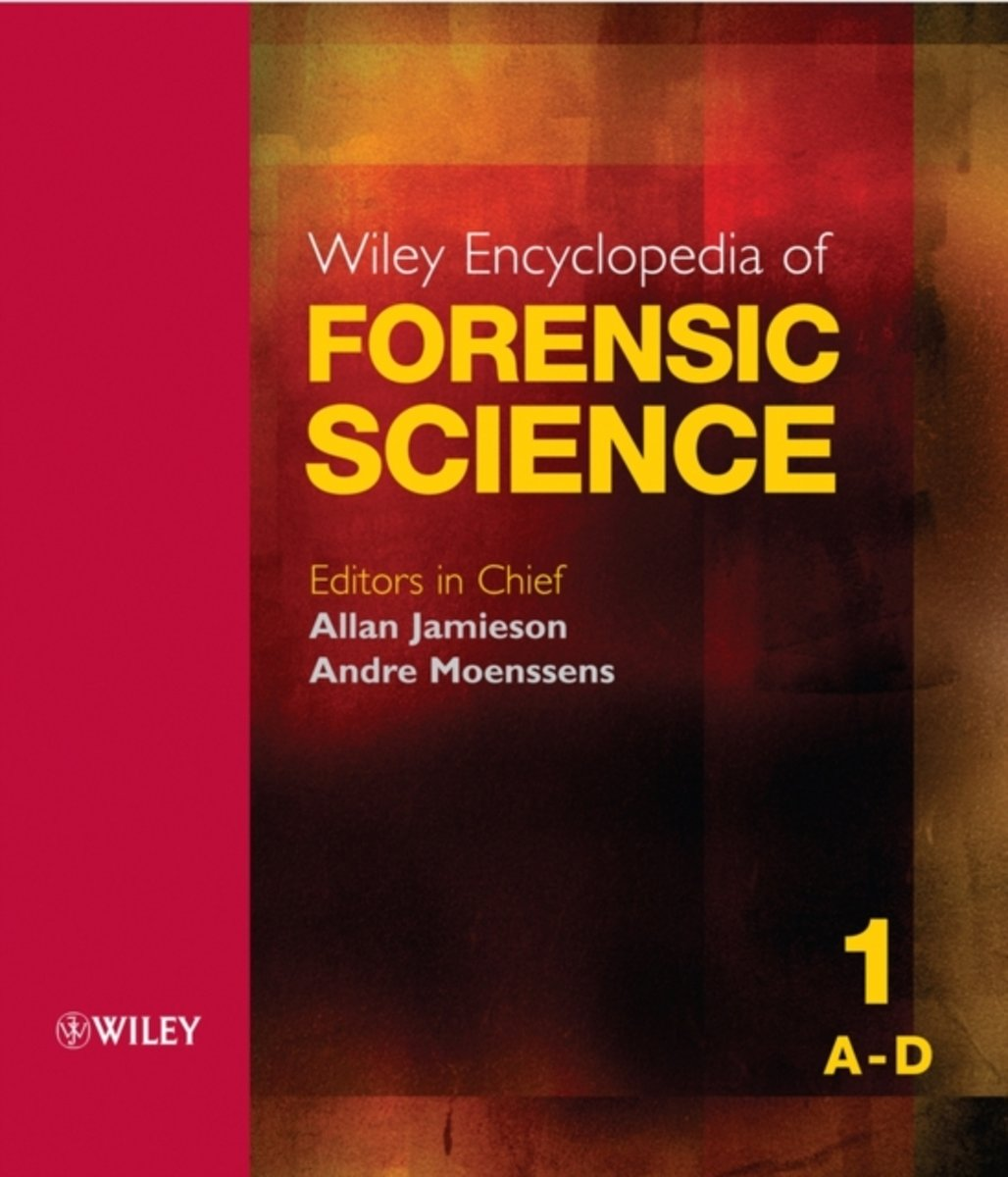 bol.com | Wiley Encyclopedia of Forensic Science | 9780470018262 | Allan  Jamieson | Boeken
