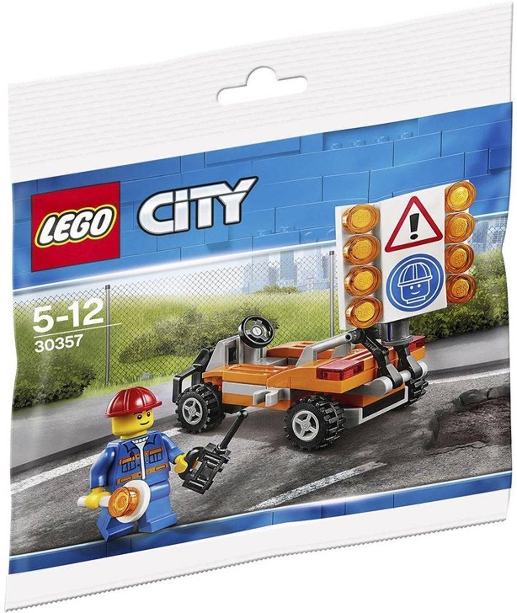 LEGO City 30357 Wegwerker (Lego zakje)
