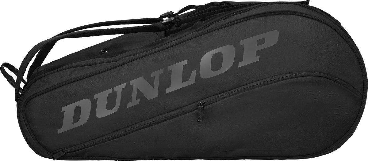 Dunlop D Tac Cx Team 12 Pack  Blk/Blk Tennistas - Black/Black kopen