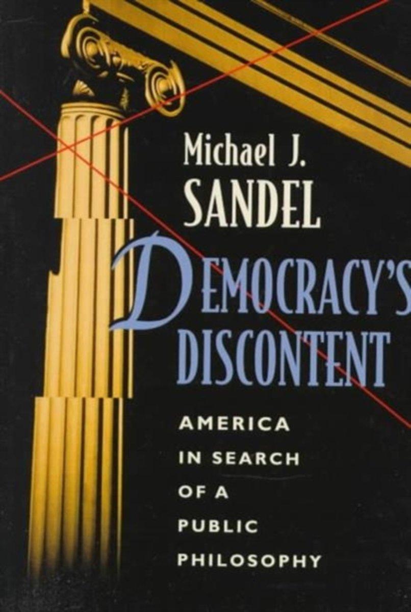 bol.com | Democracy's Discontent | 9780674197459 | Michael J. Sandel |  Boeken