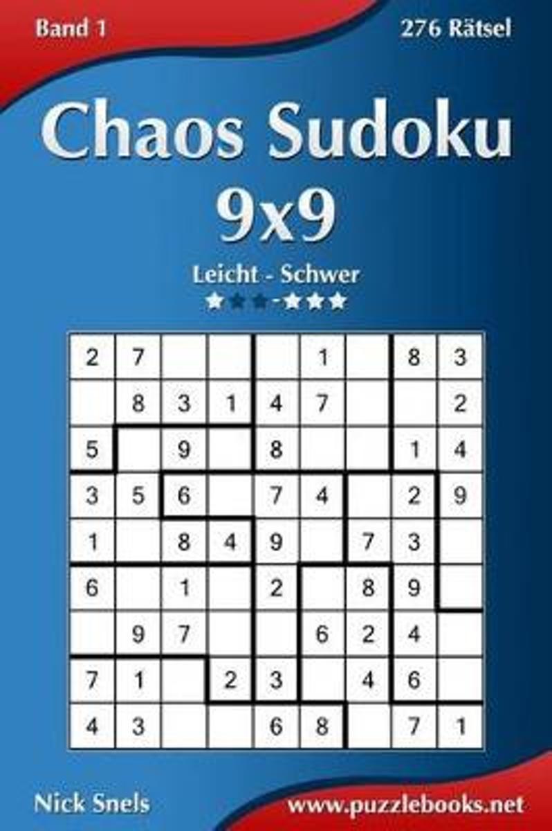 bol.com | Chaos Sudoku 9x9 - Leicht Bis Extrem Schwer - Band 1 - 276 ...