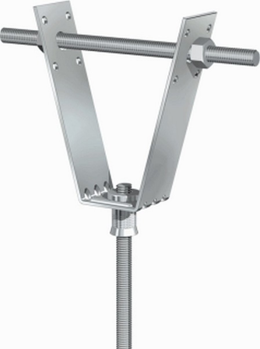 FLAM grondplaat v/beugelbev LTM, staal, diam 8mm, le 90mm, el verz, kopen