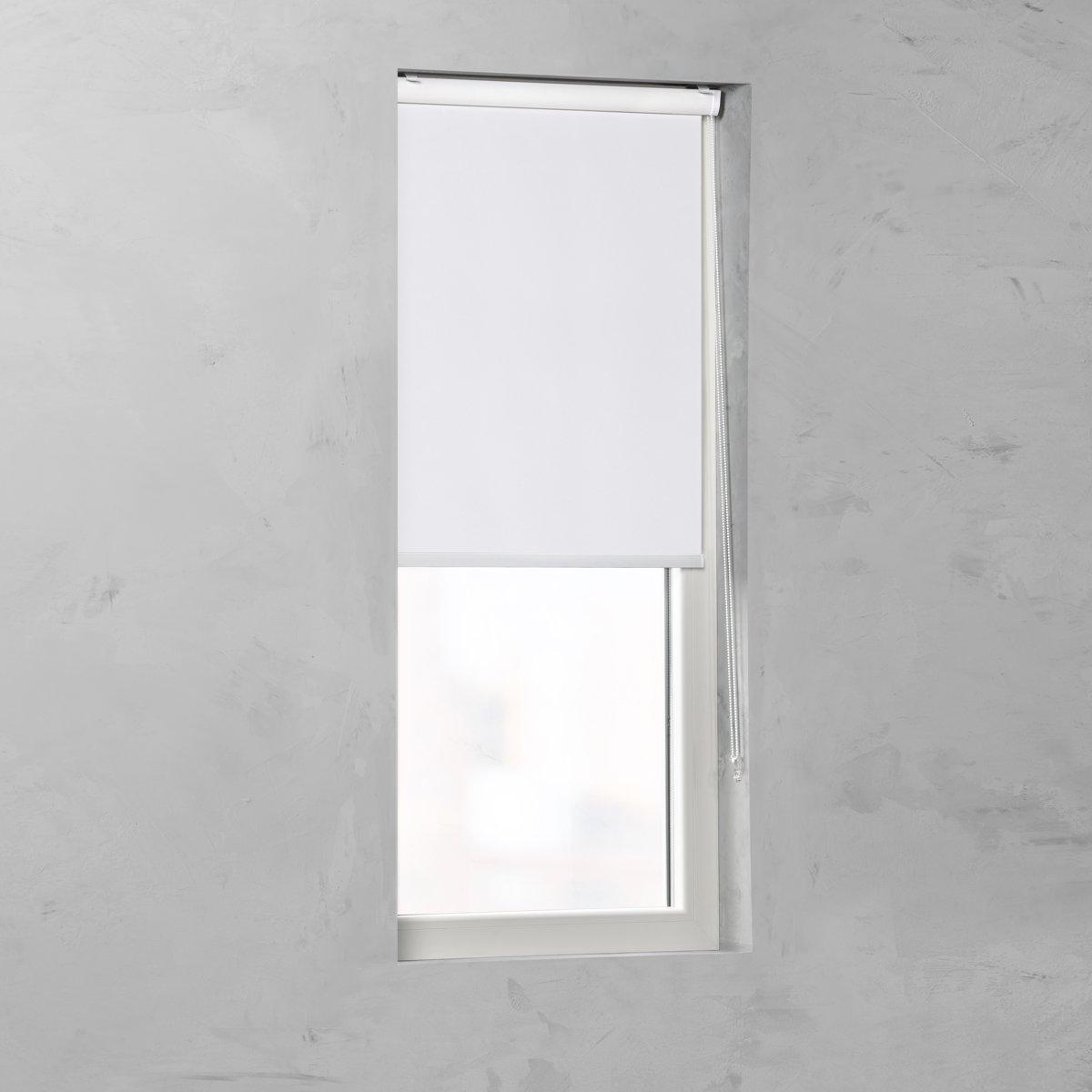 bolcom pure living cassette rolgordijn verduisterend white 105x175 cm