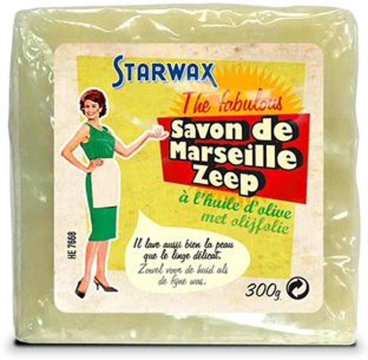 Starwax zeep Marseille 'The Fabulous' 300 gr kopen