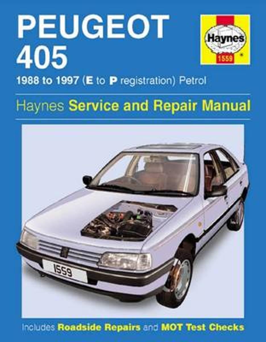 bol.com | Peugeot 405 Petrol Service and Repair Manual, Steve Rendle |  9781859607862 | Boeken