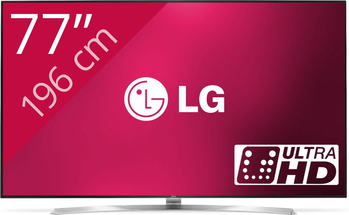 LG 75SJ955V - 4k tv voor €2.299