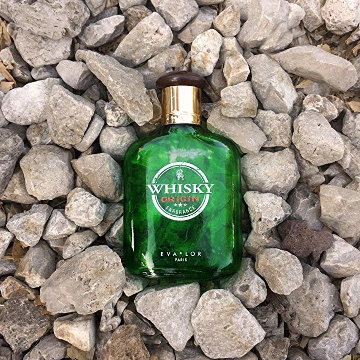 Whisky Origin Heren Parfum Kruidig, met Ceder, Kaneel, Muskus en Leder