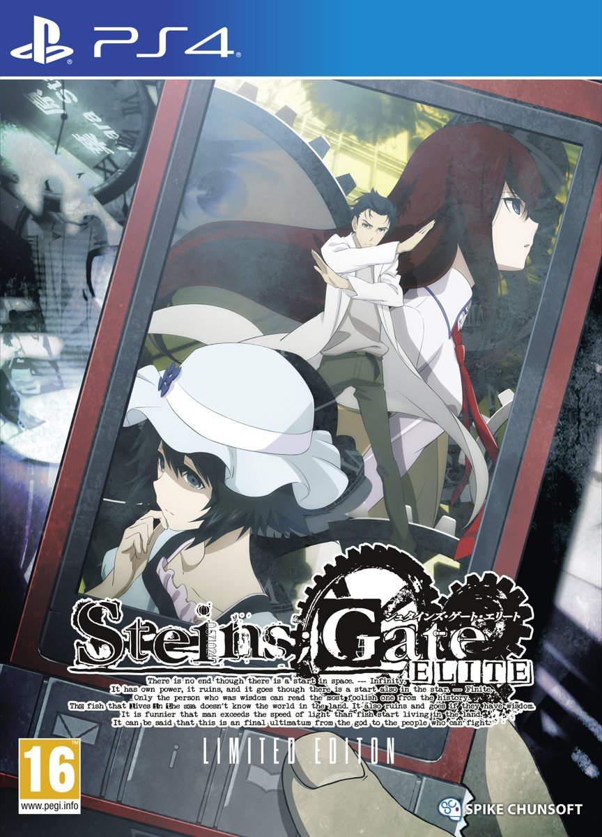 Steins;Gate Elite Limited Edition PlayStation 4
