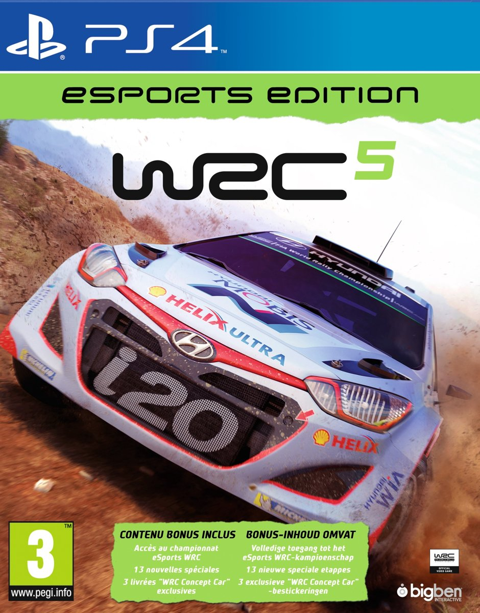 WRC 5 eSports Edition PlayStation 4