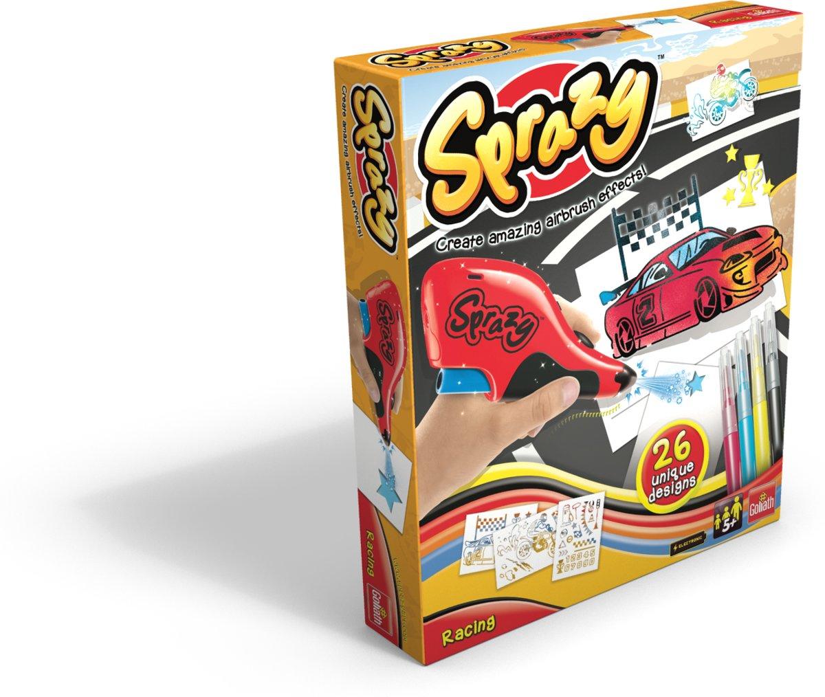 Sprazy Starter Racing voor €9,98