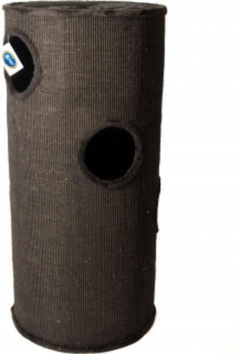 Duvo+ Krabpaal Nevada - Krabpaal x 120 cm - Zwart