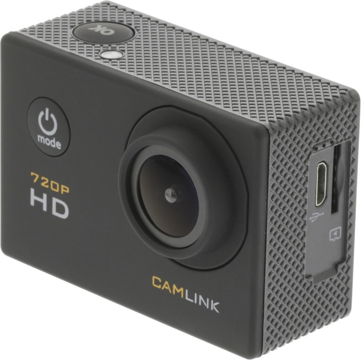 """Camlink HD-actiecamera 720p met 2""""-touchscreen kopen"""