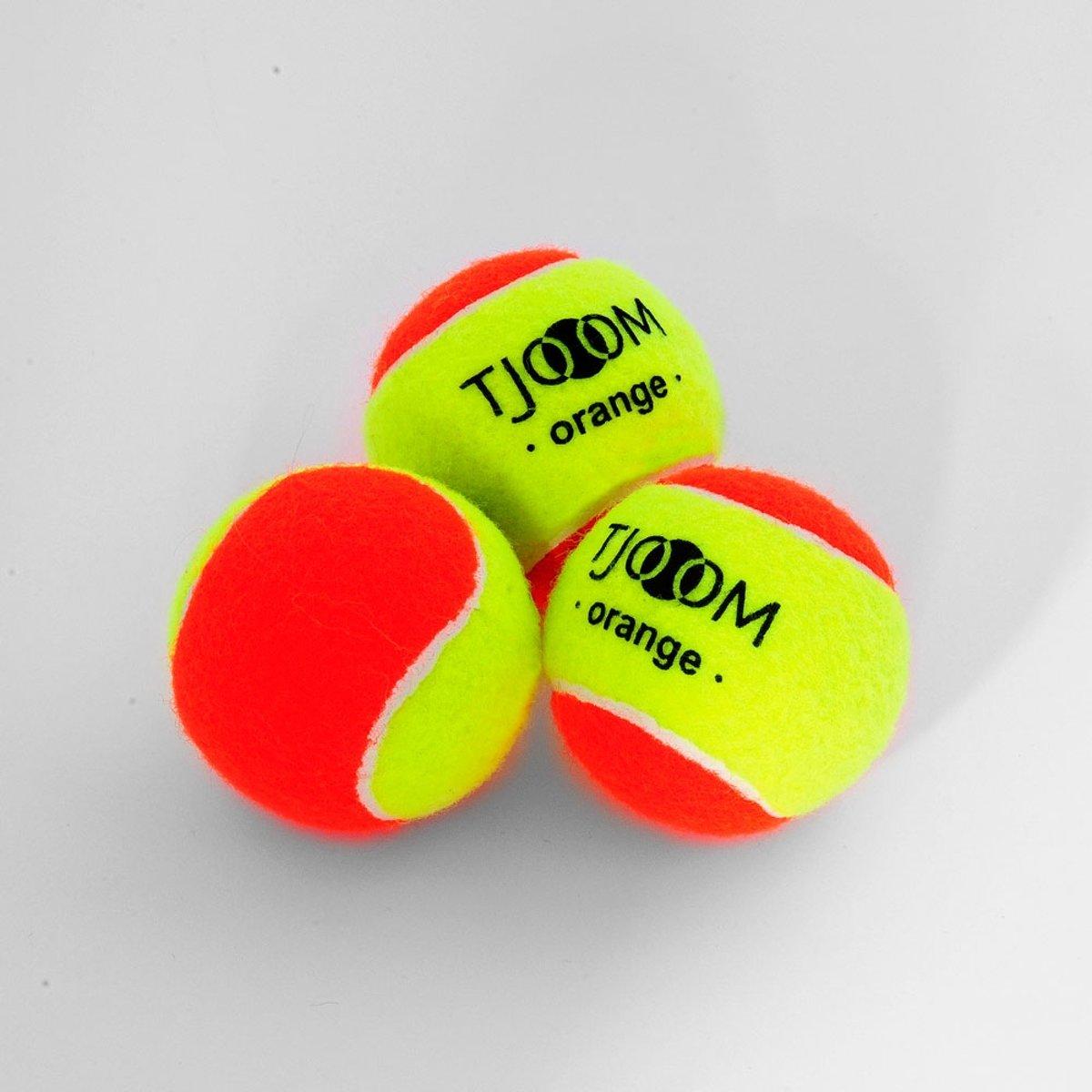 Tjoom orange - Stage 2 - Kidstennis - 60 ballen kopen