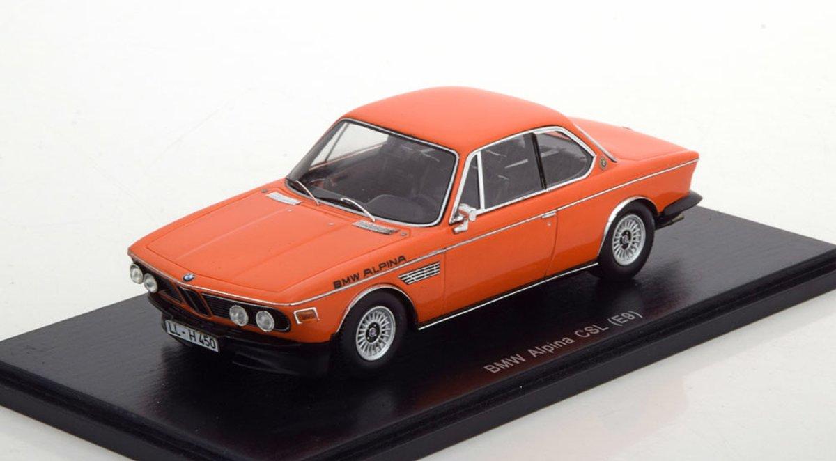 BMW Alpina CSL E9 Oranje 1-43 Spark