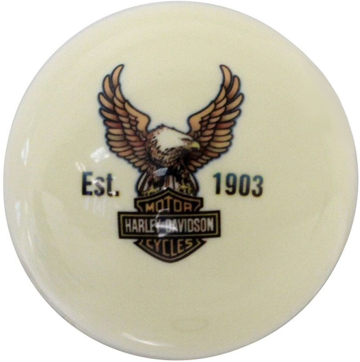 Harley-Davidson Bar & shield eagle cue ball kopen