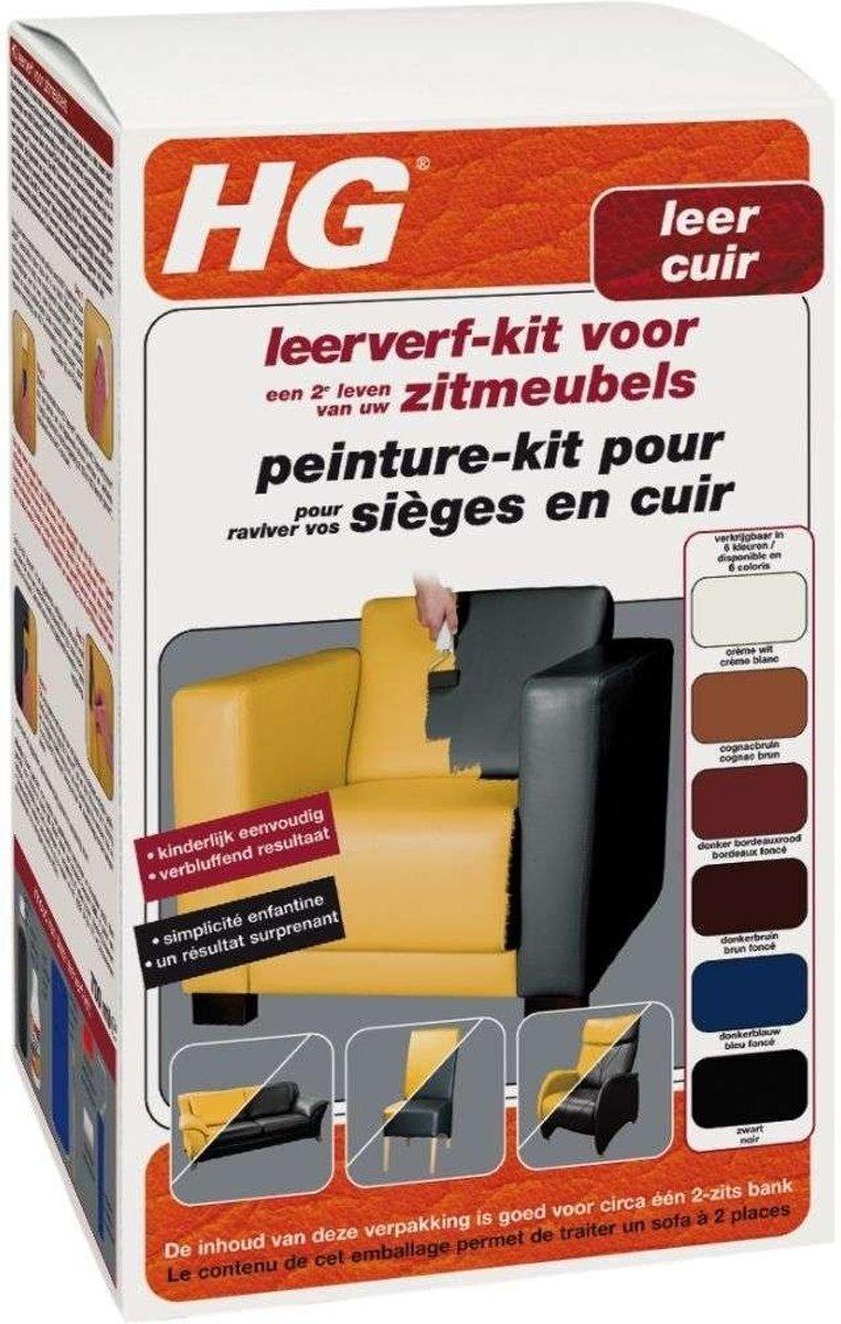 HG Leerverf - Onderhoud leer - Rood - 500 ml kopen
