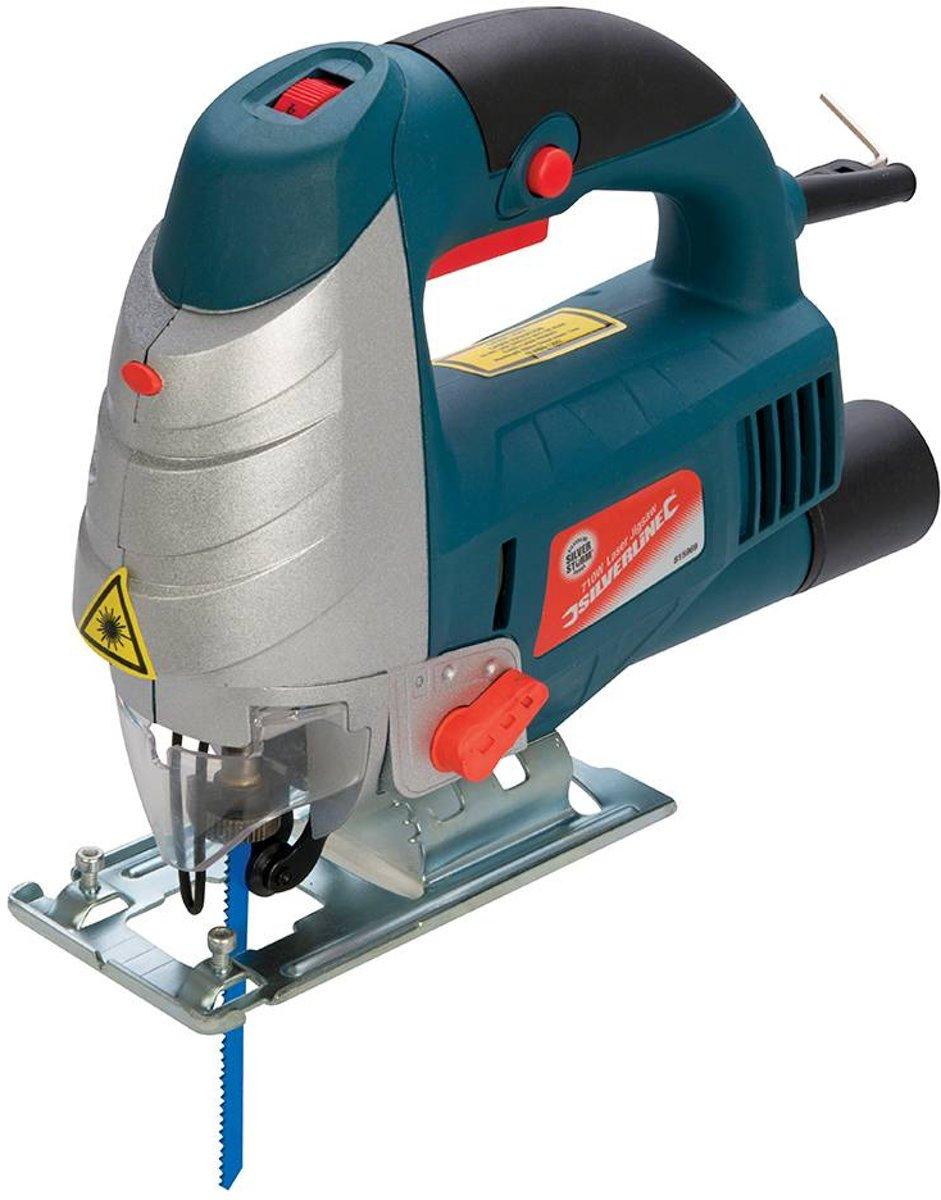 Silverline 710 W Silverstorm laser decoupeerzaag