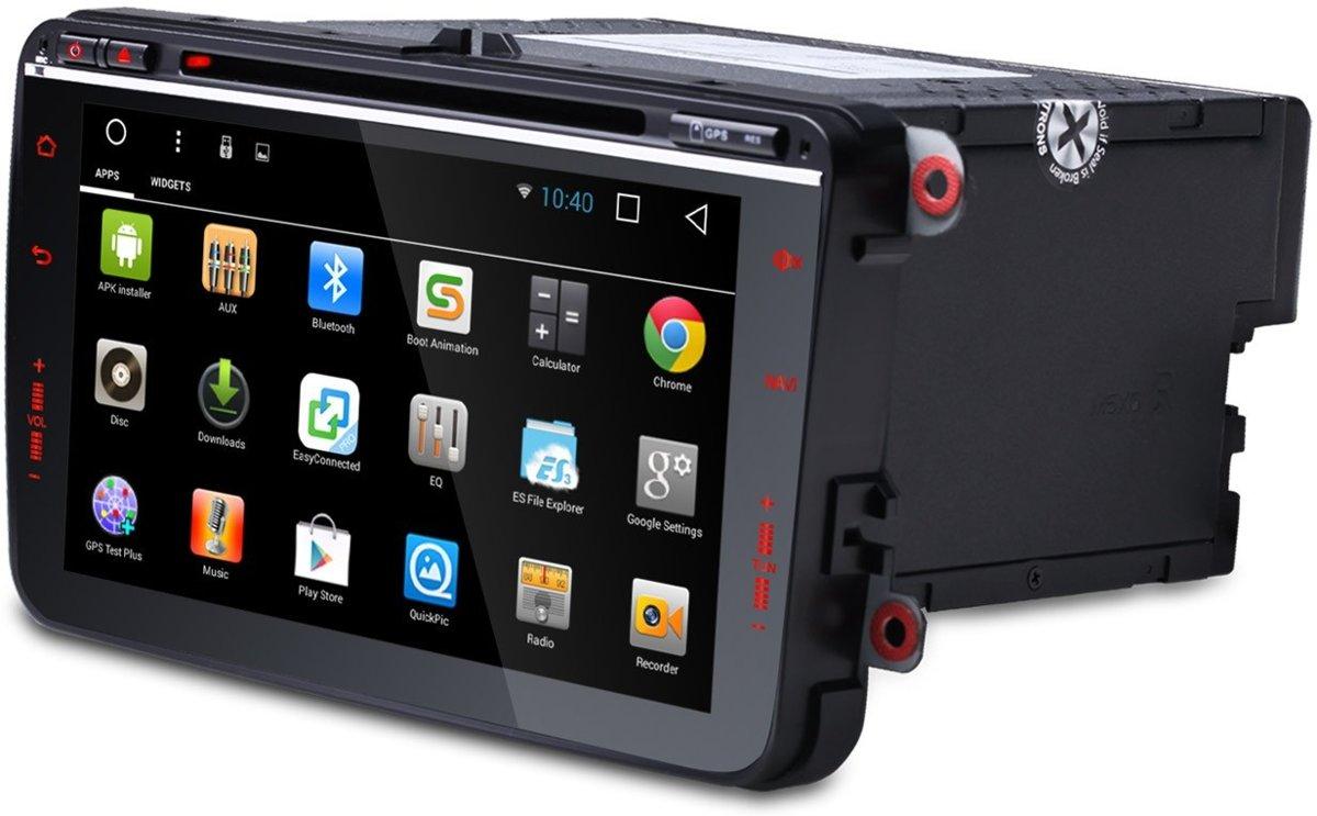RNS 510 Volkswagen, Seat, Skoda 8 inch Navigatie Android 6.0 Octacore kopen