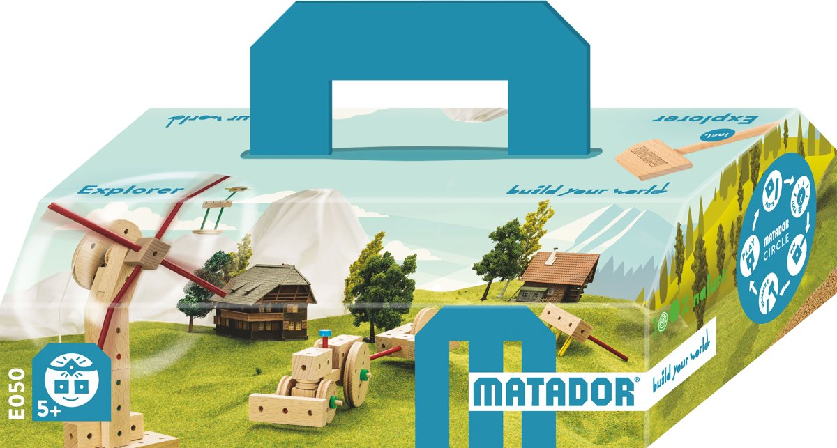 Matador Explorer 5+ 99-delig Klassik0 Bouwdoos