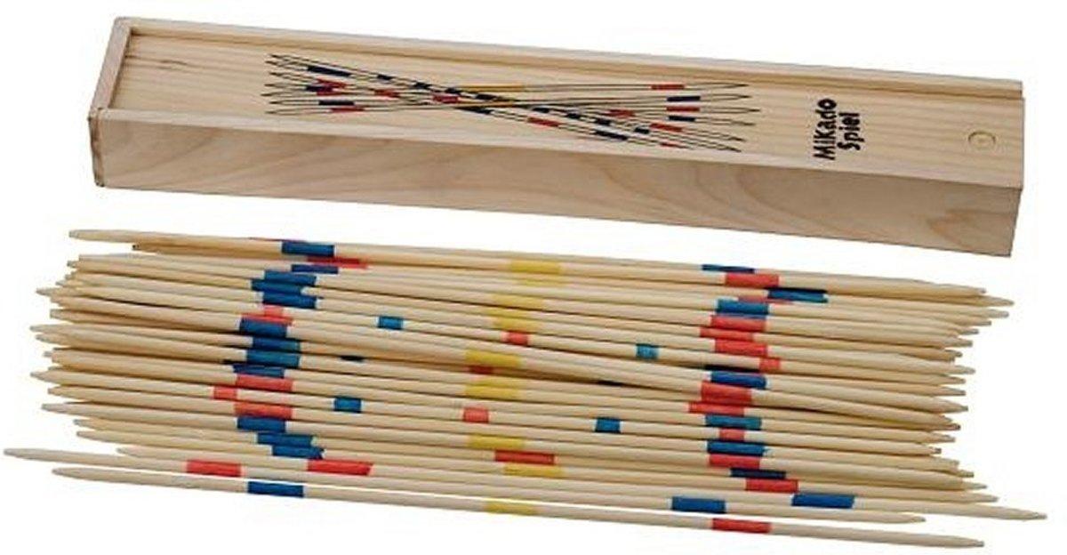 Longfield Games Mikado In Kist - 25 cm kopen