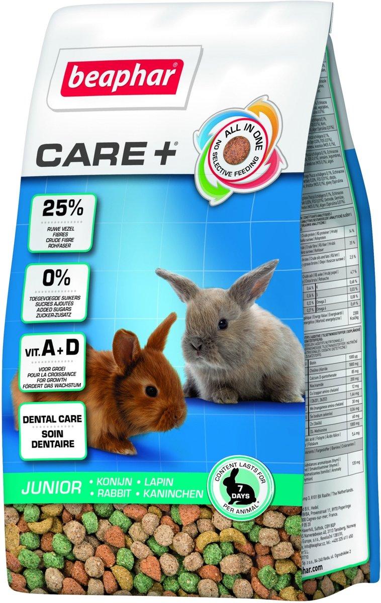 Beaphar Care+ Konijn Junior - 250 gr - Konijnenvoer