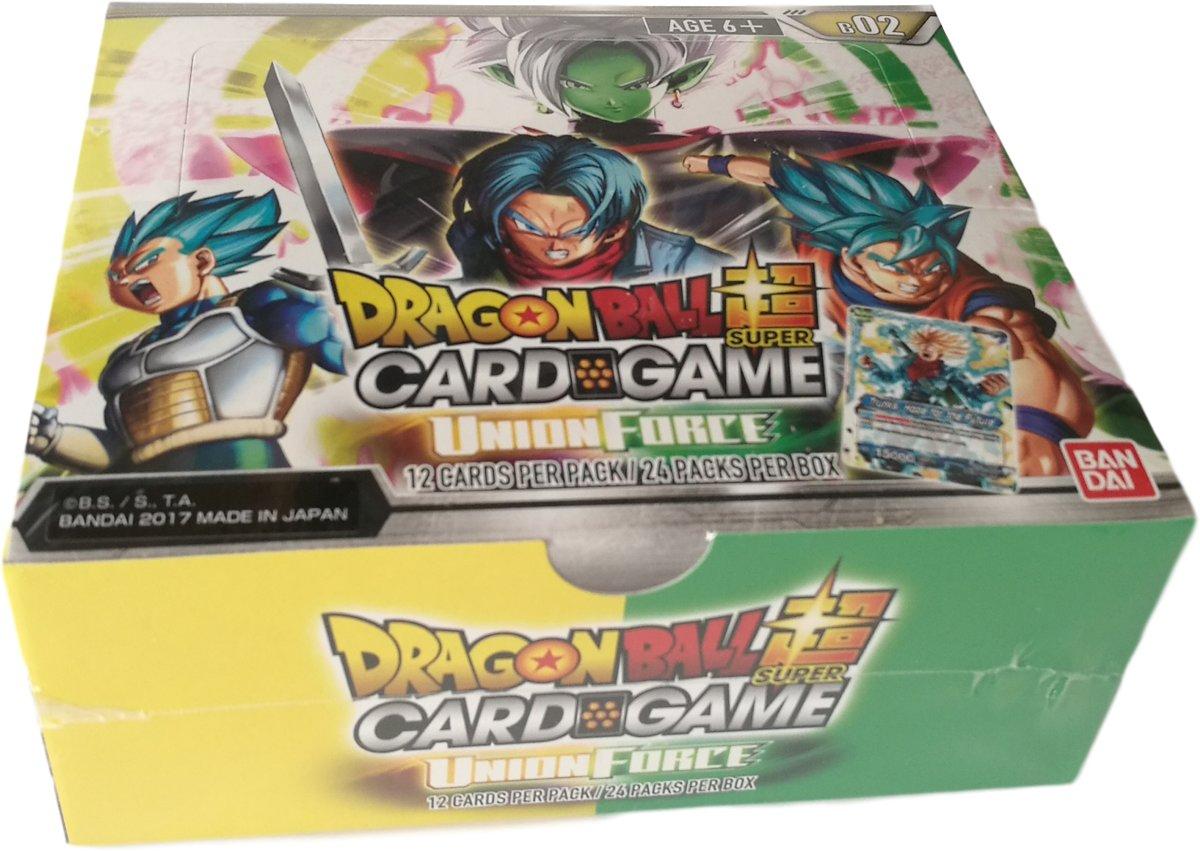 Dragon Ball Super TCG Set 2 Union Force Booster Display(24 Pakjes) kopen