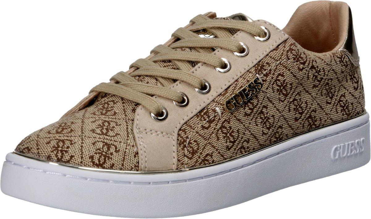 | Guess sneakers laag beckie2 Bruin 35