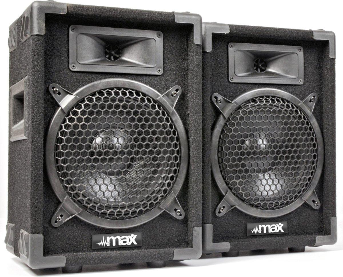 """SkyTec MAX8 disco speakerset 8"""" 400 Watt kopen"""
