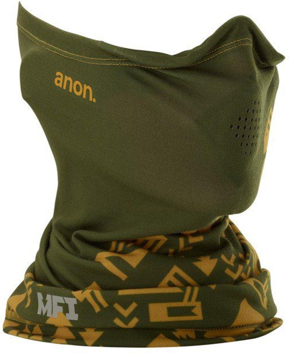 ANON MFI LIGHTWEIGHT NECKWARMER Native green kopen
