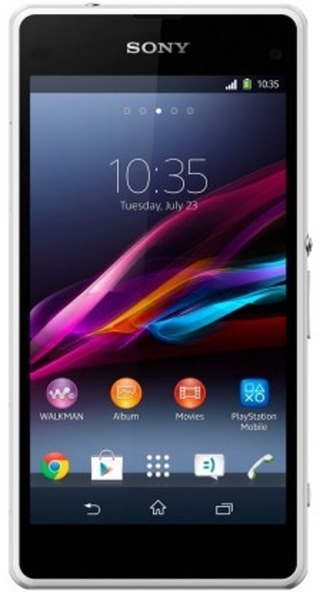 Sony Xperia Z1 Compact wit kopen