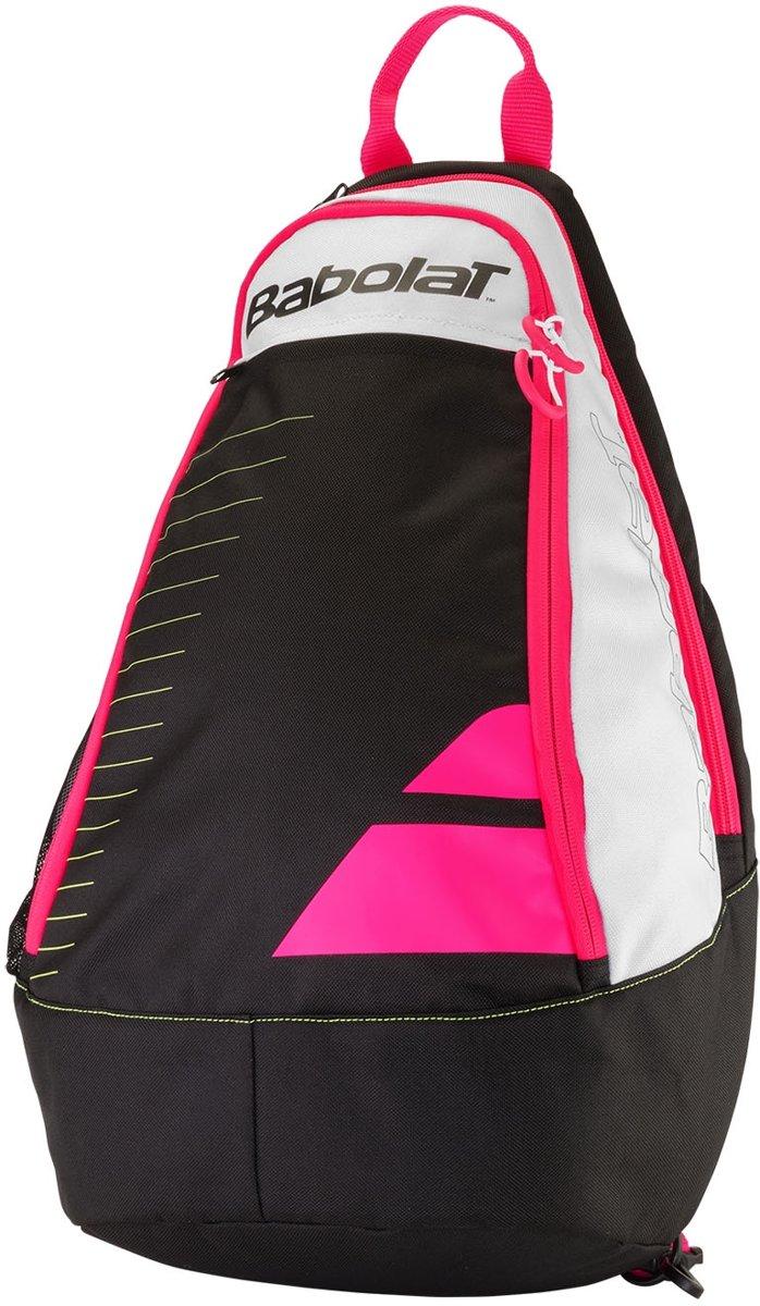 Babolat Sling Bakcpack jr. - Tennistas - Zwart/rose combi kopen