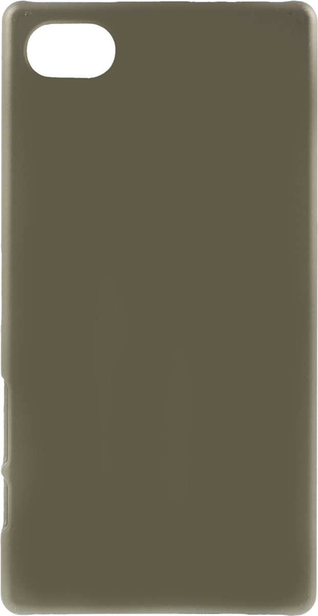 Image of Mesh - Sony Xperia Z5 Compact Hoesje - Back Case Hard Goud (8718923135410)