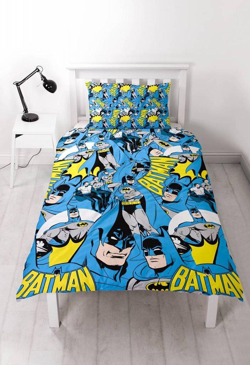 Batman Hero - Dekbedovertrek - Eenpersoons - 135 x 200 cm - Multi kopen