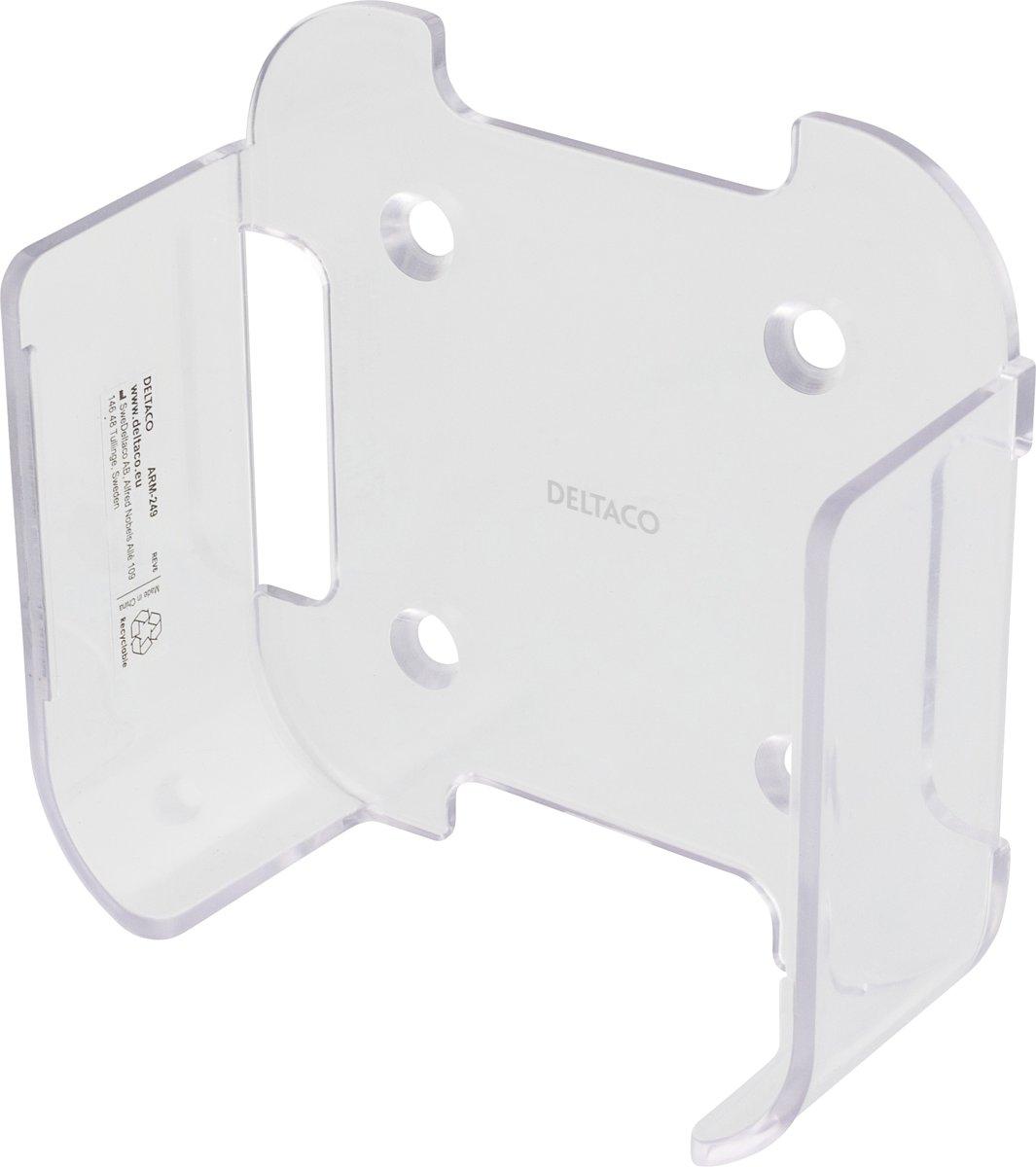 Deltaco ARM-249 Muurhouder voor Apple TV generatie 4 en 5, inclusief bevestigingsmateriaal voor plakken of schroeven transparant kopen