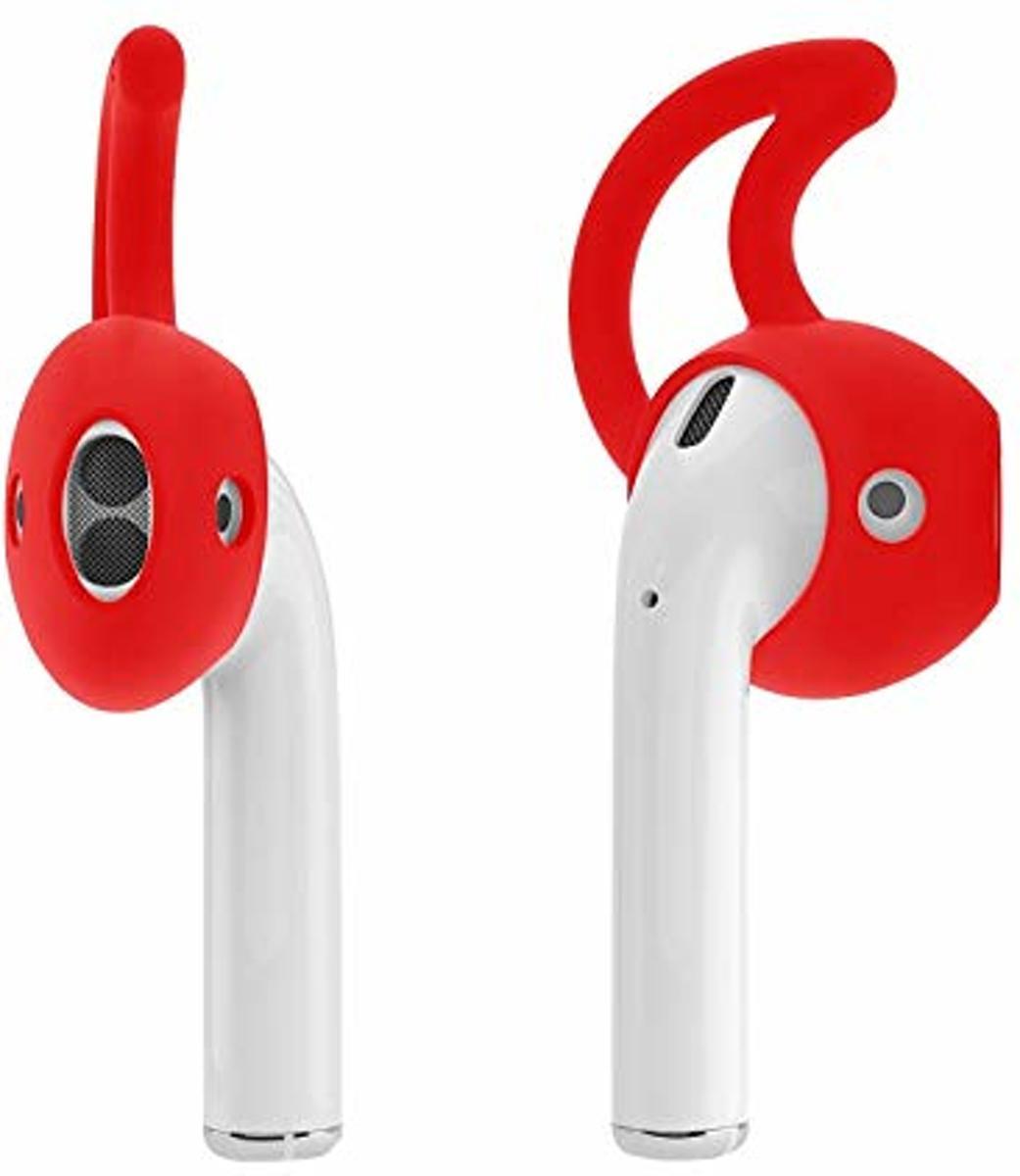 Anti-slip siliconen earhooks - earhooks - oorhaken - oordopjes - geschikt voor airpods - rood kopen
