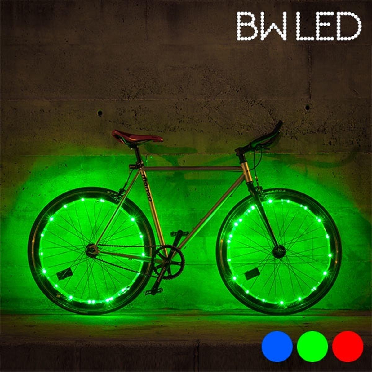 bw led lichtslang voor fiets led verlichting groen