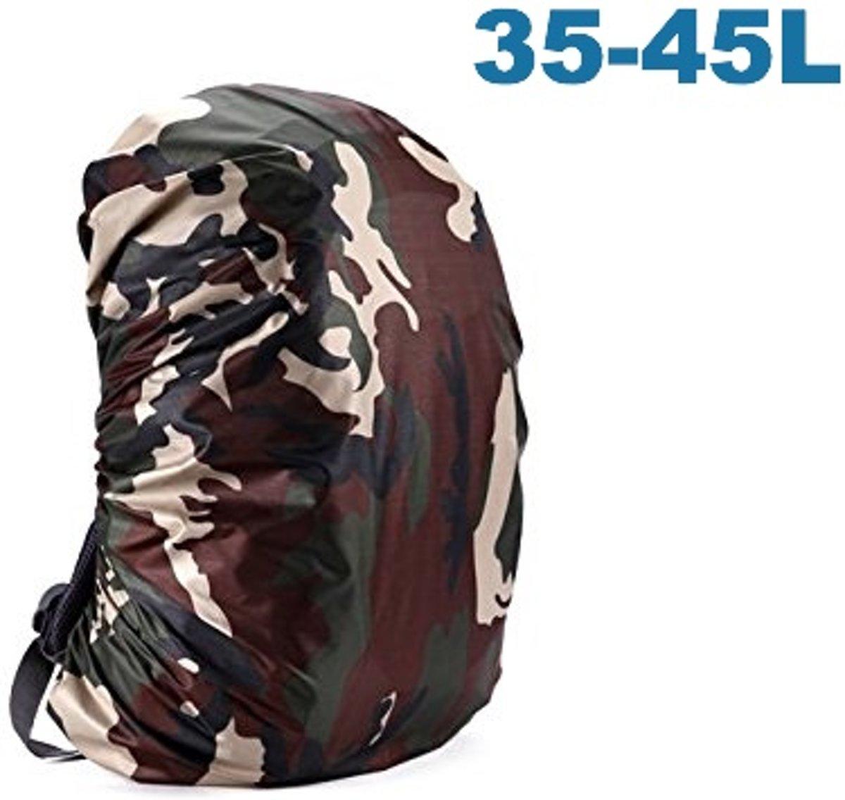 ForDig - Flightbag Regenhoes Waterdicht voor Backpack Rugzak - 35-45 Liter Regenhoes – Camouflage kopen